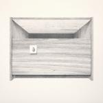 'Rautenkranz' / Bleistift auf Papier / 140 x 100 cm / 2012