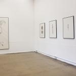 Ausstellungsansicht Diplom 'Zeug und Zeichen' 2014 / Burg Giebichenstein / Halle an der Saale