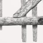 'Darum Großvater' (Detail) / Bleistift auf Papier / 140 x 100 cm / 2010